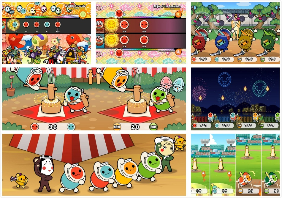 Taiko no Tatsujin: Drum 'n' Fun! para Nintendo Switch