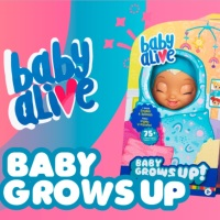 ¡Baby Grows UP! de Baby Alive