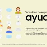 Samsung presenta #CubrebocasChallenge, una colecta para ayudar a quienes más lo necesitan